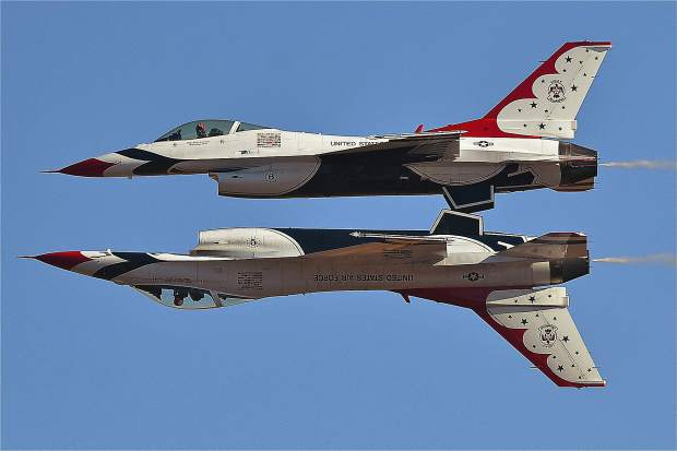 The U.S. Air Force Thunderbirds are scheduled to perform during the four days of racing.