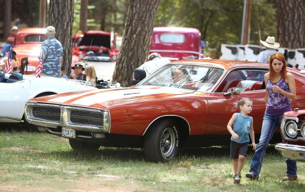 Folks young and old enjoyed all that the 2019 Roamin Angels Cruisin the Pines Car Show had to offer.
