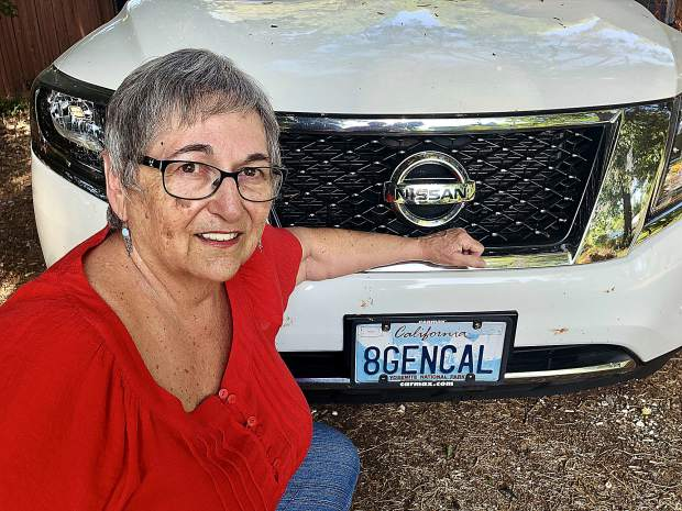 Linda Martin is an eighth-generation Californian, which she has proudly proclaimed on her license plate for more than 25 years.