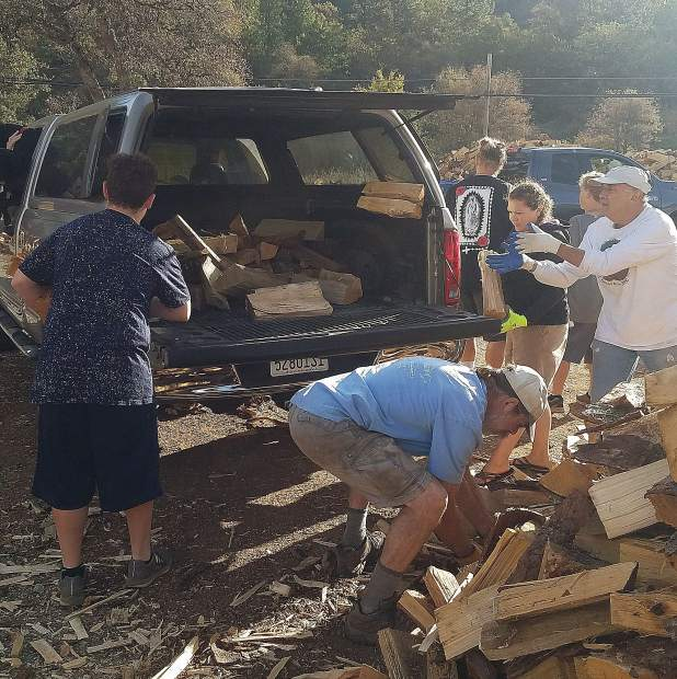 Volunteers are needed Sept. 28, Oct. 5, and Nov. 2 to deliver firewood to needy seniors as part of the Gold Country Community Services senior firewood program, now in its 40th year.