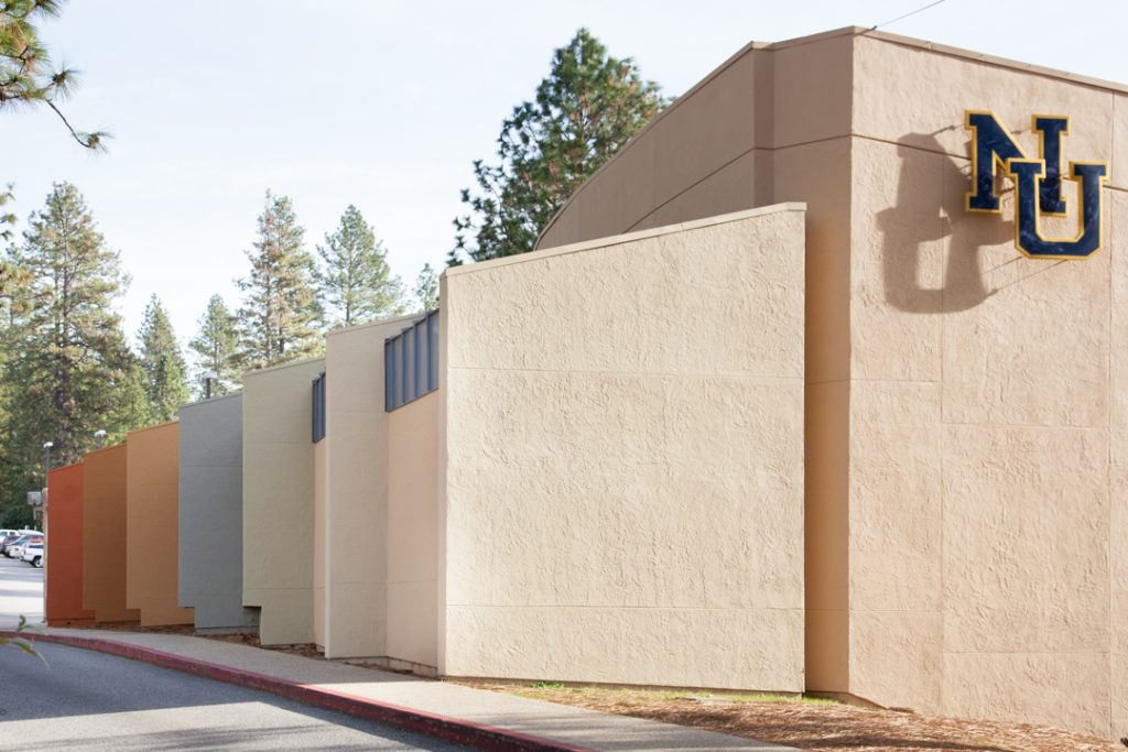 Two years ago, Rachel Gamolsky was hired as a color consultant for the painting of the outside and lobby of the Don Baggett Theatre on the Nevada Union High School campus.