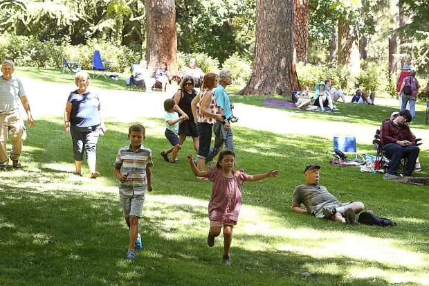 Hundreds of folks young and old took advantage of the 124th Miners Picnic on the grounds of the Empire Mine State Park Saturday. Attendees could bring their own food and were encouraged to relax on the lawns of the historic mine.