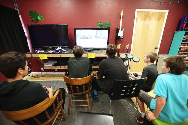 Video games are just one of the activities area youth can participate in at NEO.