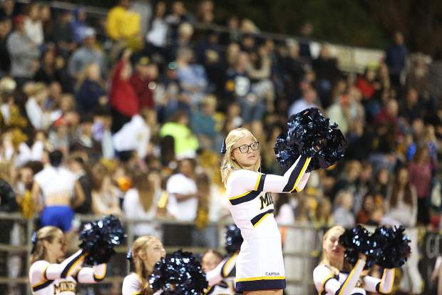 A strong showing of Miner fans filled the stands during Friday's homecoming game against the Fairfield Falcons.