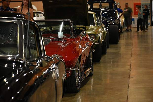 Photos from the Cruisin' the Pines Car Show at the Nevada County Fairgrounds.