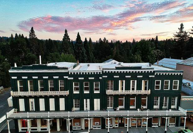 National Hotel in Nevada City, 2019.