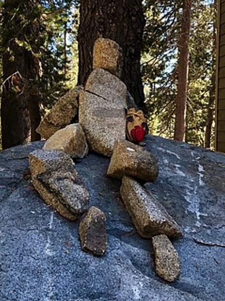 Rocking out at Donner Summit.