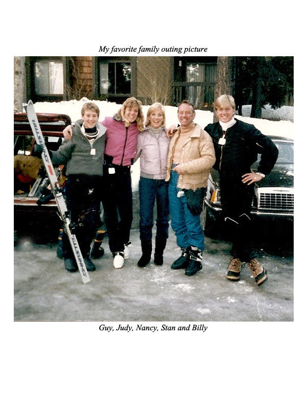 This 1984 photo of Stan Zabka and his family appears in his memoir, 'Razz Ma Tazz.' Shown left to right are son Guy, daughter Judy, wife Nancy, Stan, and son Billy. Stan co-produced the Oscar-nominated film, 'MOST,' written and produced by his actor son Billy, who also portrayed Johnny Lawrence in the 'Karate Kid' movie franchise.
