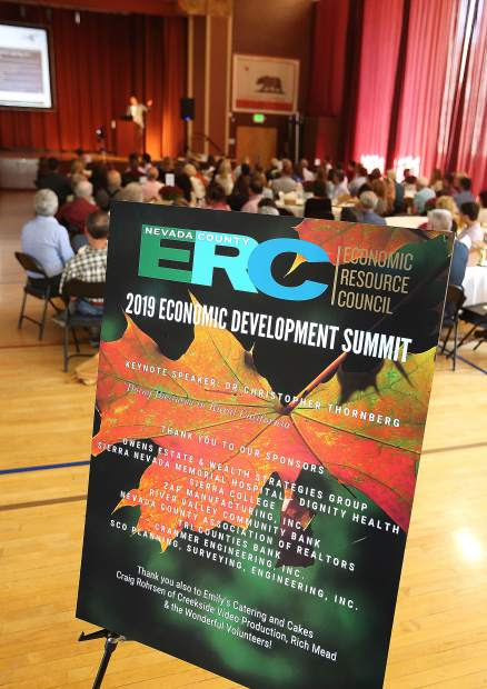 Area banks, and realtor associations were among the sponsors of this year's Economic Resource Council summit meeting.