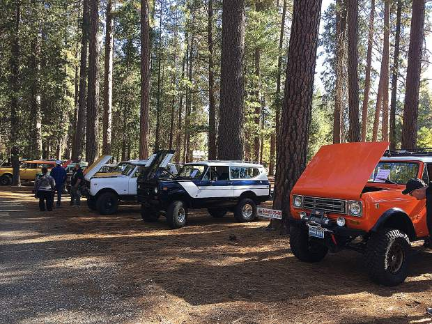 A classic truck and 4x4 show highlighting International Harvester vehicles will take place on Oct. 4-6 at Gate 4 at the Nevada County Fairgrounds