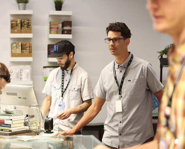 Elevation 2477 cannabis dispensary owner Daniel Batchelor oversees the day-to-day operations of the sole Nevada County dispensary in Nevada City.