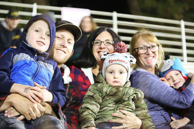 Many folks were happy to see the Vintage Duels racing Friday night at the Nevada County Fairgrounds.