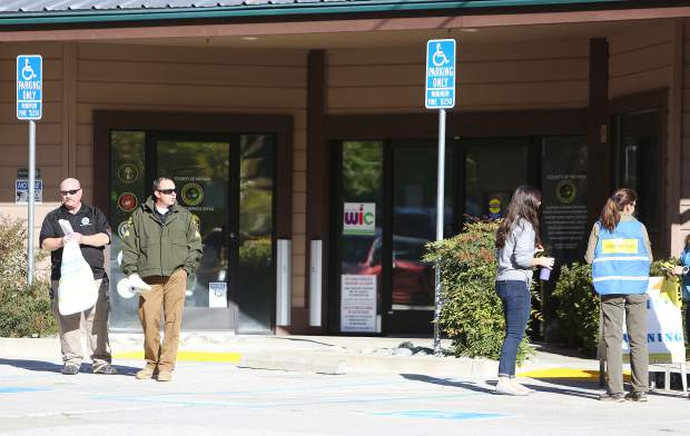 Grass Valley's Brighton Greens Resource Center was the site of Friday's active shooter drill.