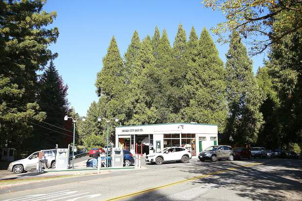 Nevada City Gas off of Zion Street in Nevada City was pumping gas along with Robinson Enterprises off of Lower Grass Valley Road. The two, along with the Nevada City Airport, were some of the only places to provide gas in western Nevada County.