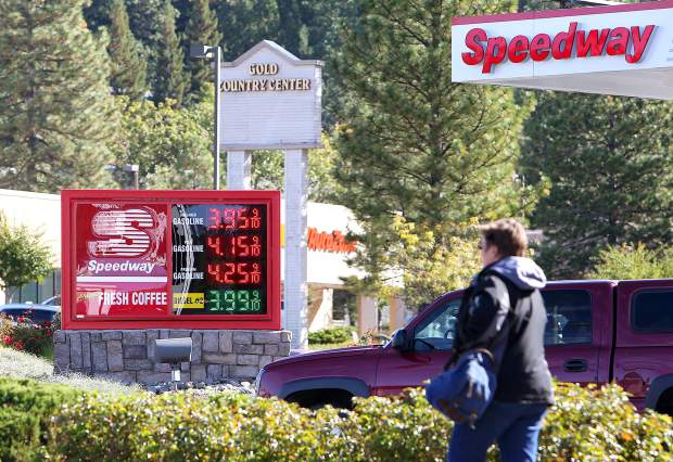 Speedway Gas Prices Near Me >> Nevada County Gas Prices Higher Than State National