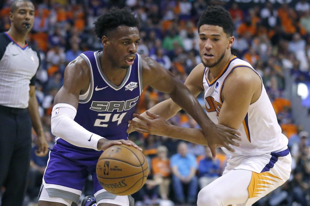 The Sacramento Kings signed Buddy Hield to a four-year, $86 million deal that could go as high as $106 million if he reaches all of his incentives.