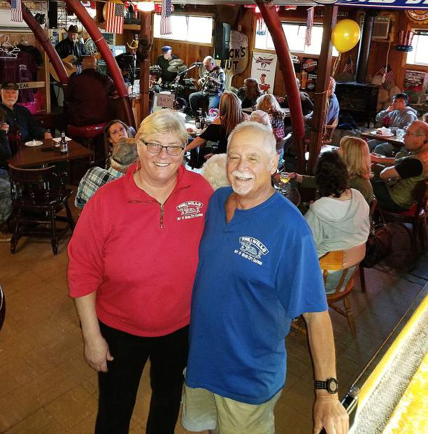 Nancy Wilson and Mike Byrne have owned the Willo steakhouse since 2002, and the couple hosted a festive party Sunday in honor of the restaurant's 50th anniversary.