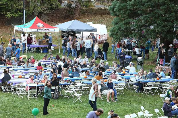 Pioneer Park in Nevada City is where the Kare Crisis Nursery has held their annual Oktoberfest for the community to enjoy.