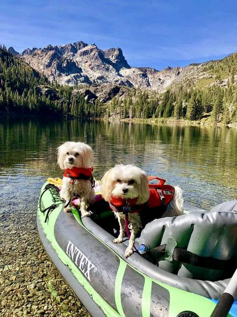 Bernie and Lily's last days of kayaking for the season.