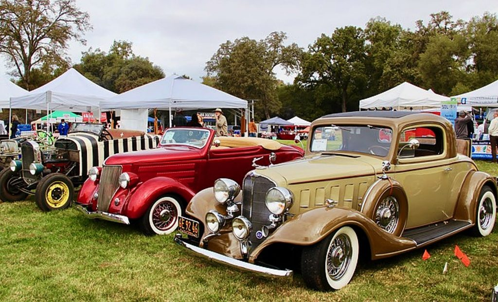 Grills and Grilles Car Show in Penn Valley, October 19.