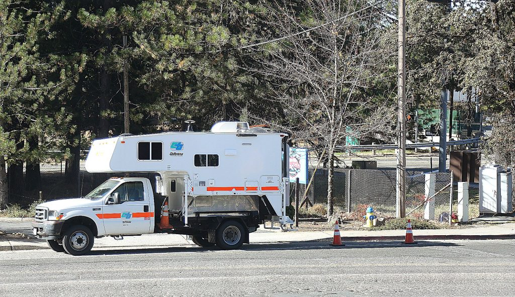 Caltrans workers have been manning gas powered generators at intersections along the Highway 49 corridor, ensuring that stop lights remain in working order.