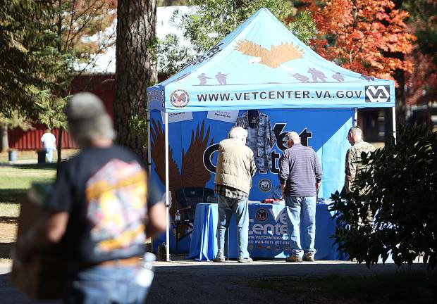 The Vet Center was one of the many veterans service groups to be available during this weekend's All Veterans Stand Down.