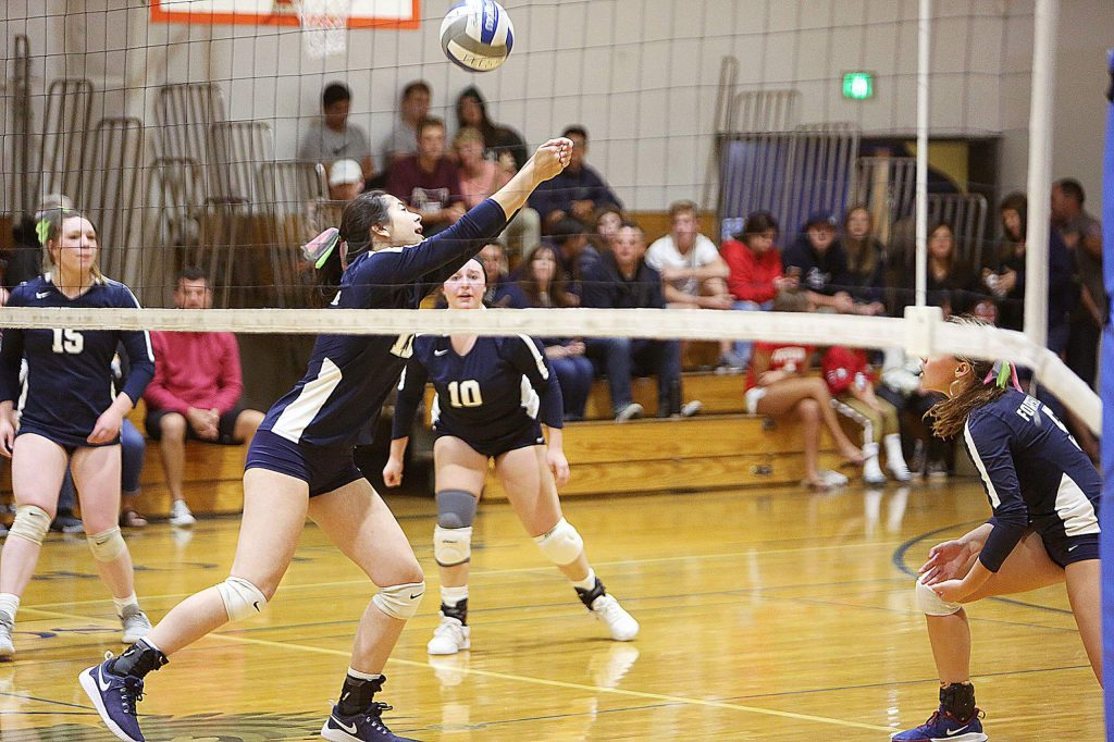 The Forest Lake Christian varsity girls volleyball team won their playoff matchup against Faith Christian Thursday at home.