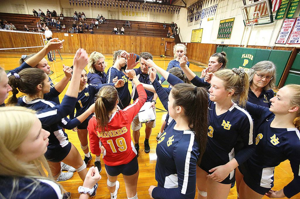 The Nevada Union Miners persevered Tuesday evening in their first round playoff win against Liberty Ranch. Due to the PG&E shutoffs, the first seed Miners were forced to play on the road at Placer High School.