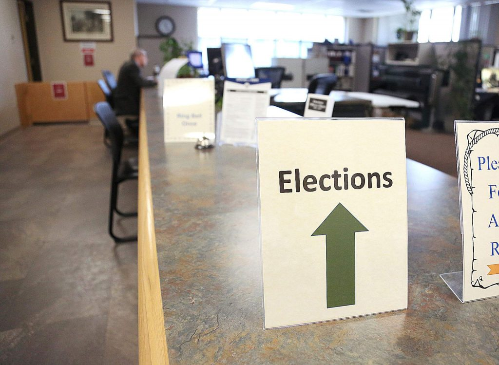 The Nevada County Elections office is located on the second floor of the Rood Government Center.
