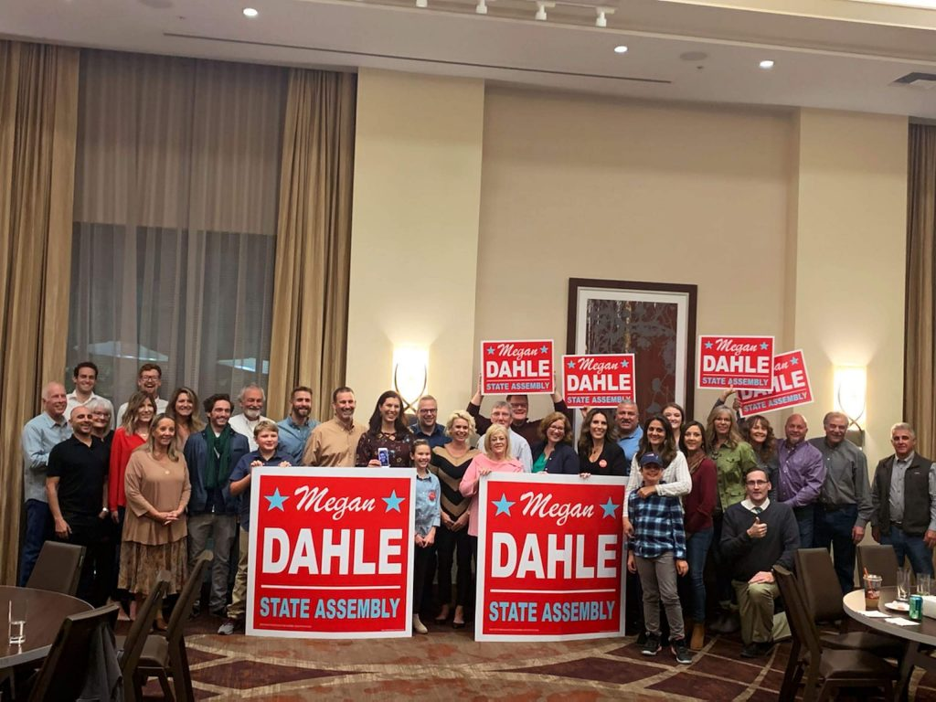 Unofficial election results show Megan Dahle beating Elizabeth Betancourt 48,516 votes to 35,342, or 58% to 42%, with all precincts reporting.
