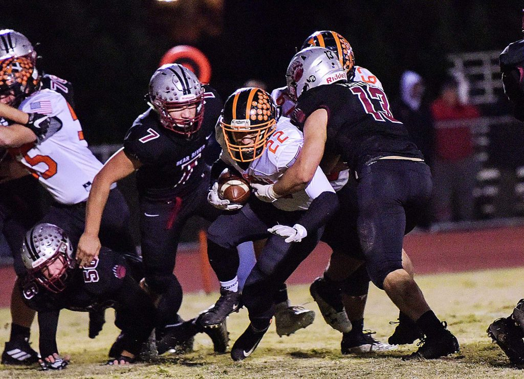 Bear River's Tyler Dzioba (7) was named to the All-PVL Second Team.