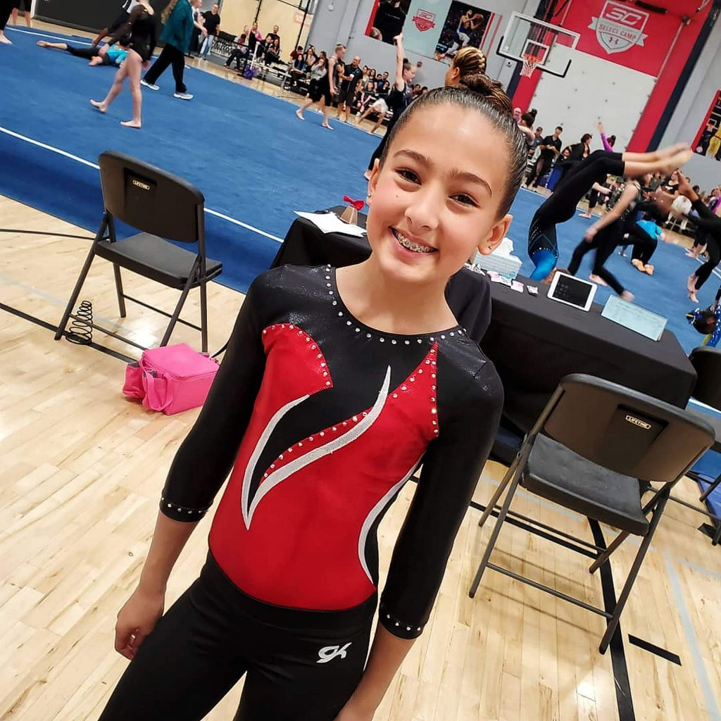 Kaylee Madison, 11, claimed first place on the vault with a score of 9.35. She finished third all-around with a final score of 37, her highest of the season. Madison was also second on the beam (9.55), third on the bars (9.15) and fourth in the floor exercise (8.95).