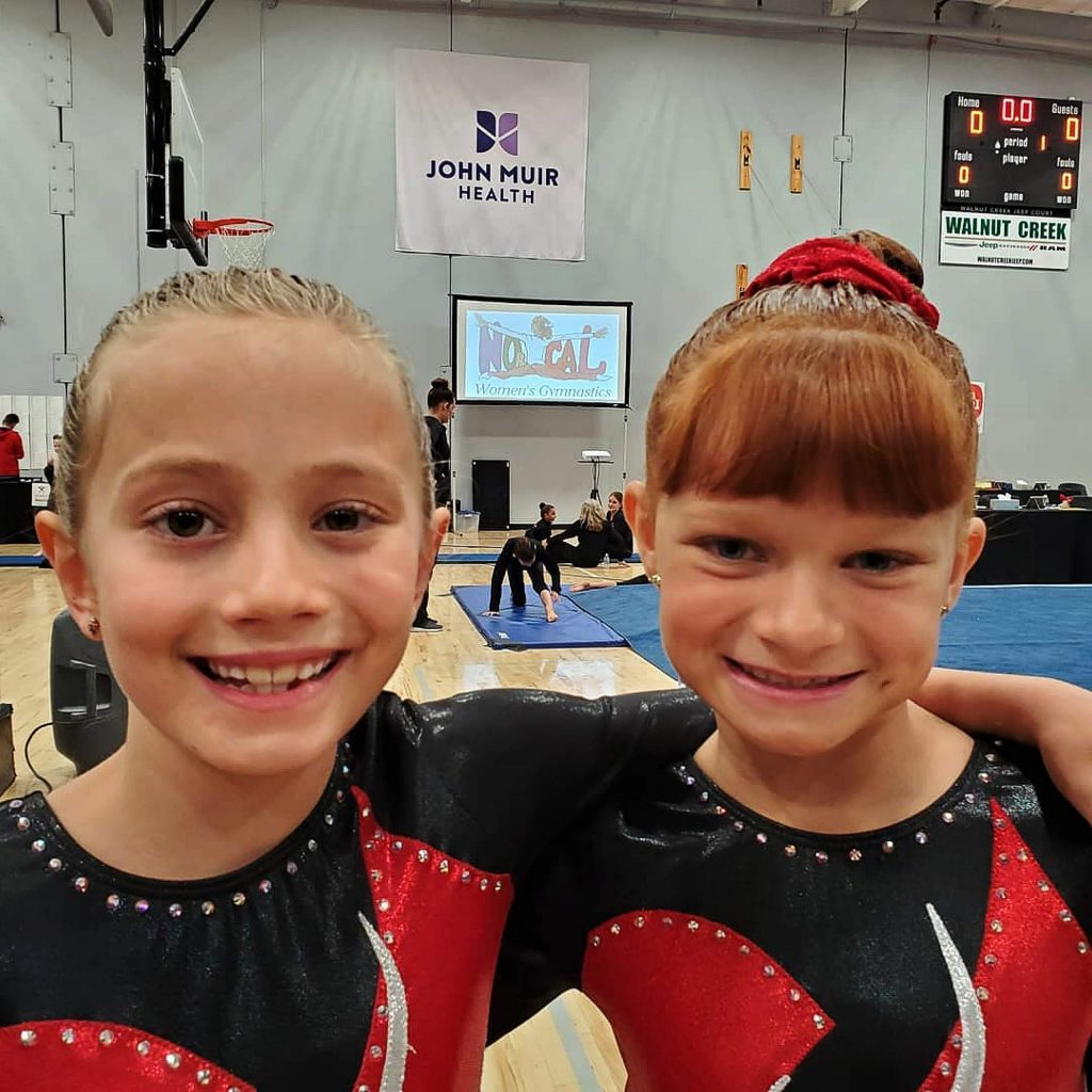 Gianna Marsico and Ashlyn Edwards put in strong perfromances at the NorCal State Championships.