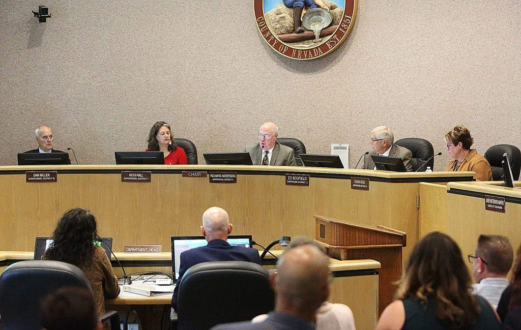 Nevada County supervisors were in support of Gold Country Services programs for seniors and were asked by those in attendance to support a Nevada County senior center. No direction was given by supervisors.