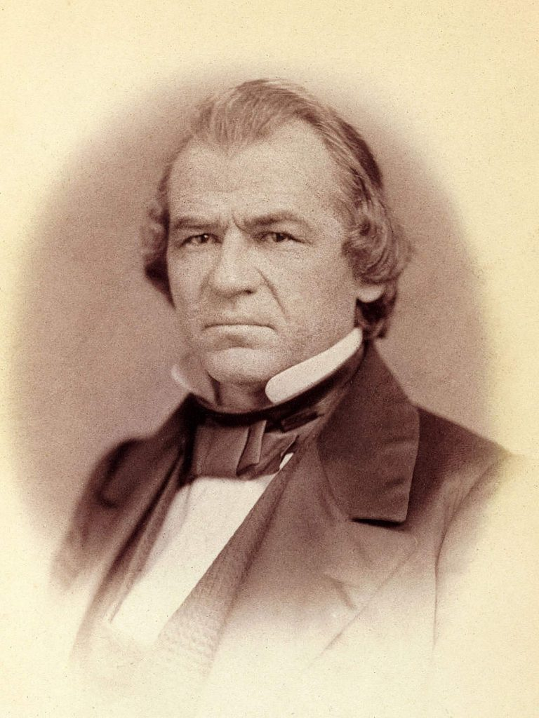 When President Andrew Johnson's impeachment trial was held in 1868, Nevada City pioneer Bill Stewart voted for conviction.