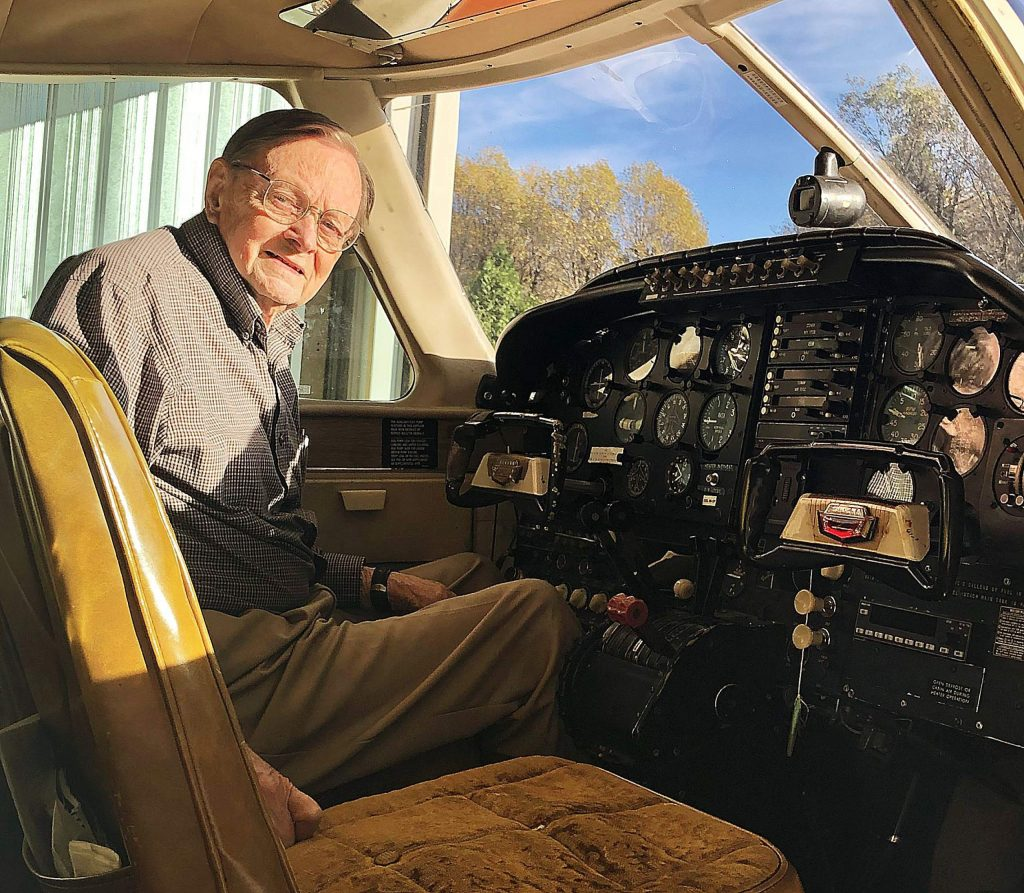 """Suddenly I had money and free time,"" Bill Rorden said. ""I got my private pilot's license when I was 25. The next logical step was to buy a plane."""