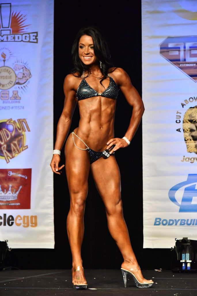 Jen Ayala competed in the 2016 bodybuilding Governor's Cup in Sacramento.