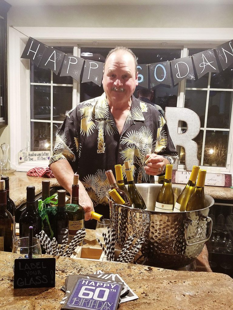Happy Birthday to Dan Thomassen, local construction contractor and all-around great guy, who celebrated 42 years of experience turning 18.