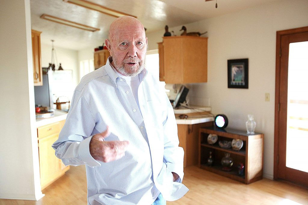 Alta Sierra's Jack Strickland is one of hundreds of area mobile home park residents that won't receive a PG&E notice about the shutoffs due to a master meter provided to the mobile home parks.