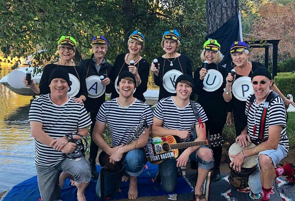 Big Mable and The Portholes perform sea shanties at Lake Wildwood with special guest Denny Mac and The Sensations.