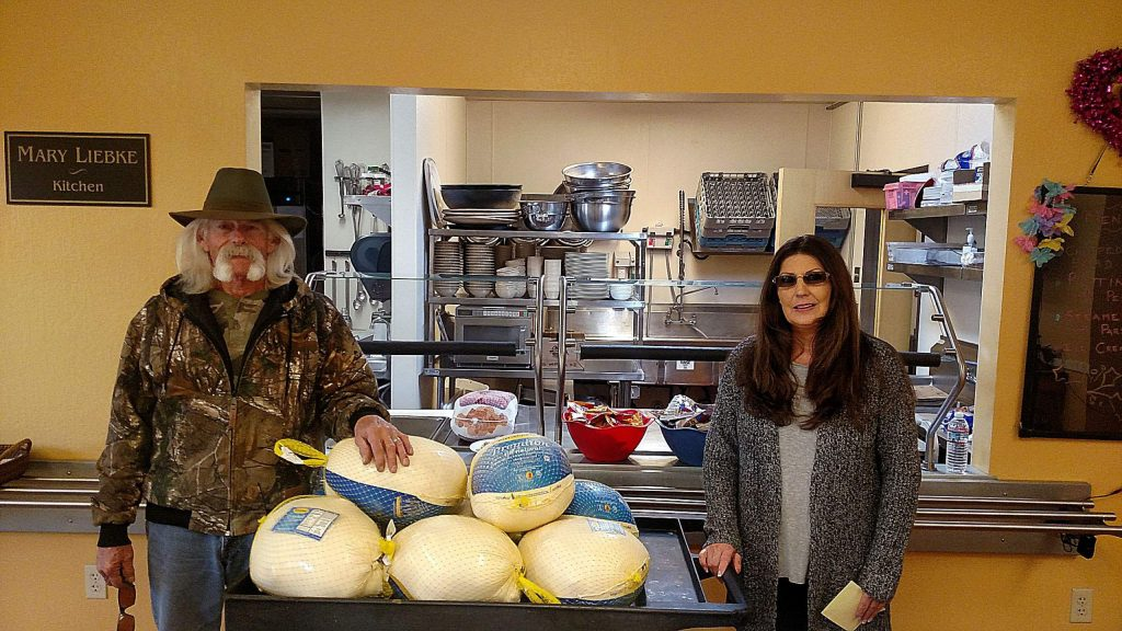 Gary and Jerriann Wasson donated 10 20-lb turkeys for Thanksgiving to the Hospitality House to ensure the 69 individuals in our care have a touch of tradition and home this season.