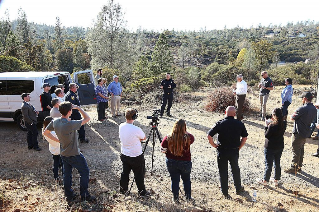 A Cal Fire firefighter talks about the trials and tribulation that went into securing the funding and grants behind the Ponderosa West Grass Valley Defense Zone Project.
