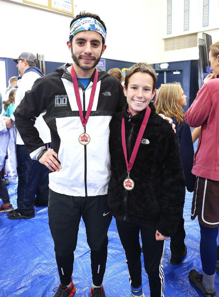 Zachery Blanco 23, and Jade Biittner 13, were the fastest male and female runners for the 2019 Michael E. Bratton II Memorial 5k and 2.5K Turkey Trot.