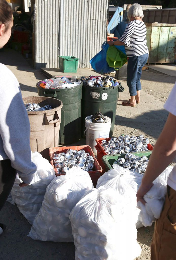 Aside from Grass Valley Recycle on Idaho Maryland Road, people can get their aluminum recycled at the McCourtney Road Transfer Station off McCourtney Road.
