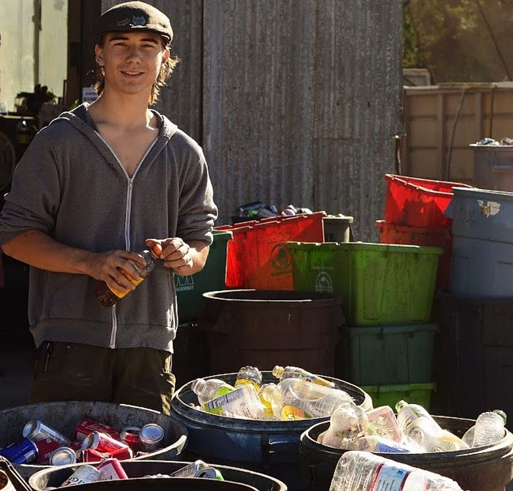 One of the biggest issues that Cazen Ostrander said he has seen when dropping off his recycling is that most people just don't want to take the time to sort everything out.
