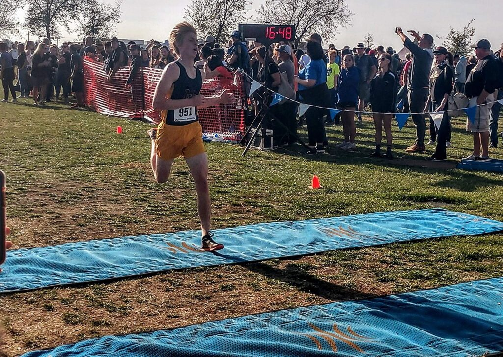 Nevada Union distance runner Jake Slade put in a strong performance at the Sac-Joaquin Section Championships last Saturday. The junior ran the 5K course at Willow Hill in 16 minutes, 48.9 seconds, placing second in the Division 3 race and earning a spot at the upcoming State Championships.