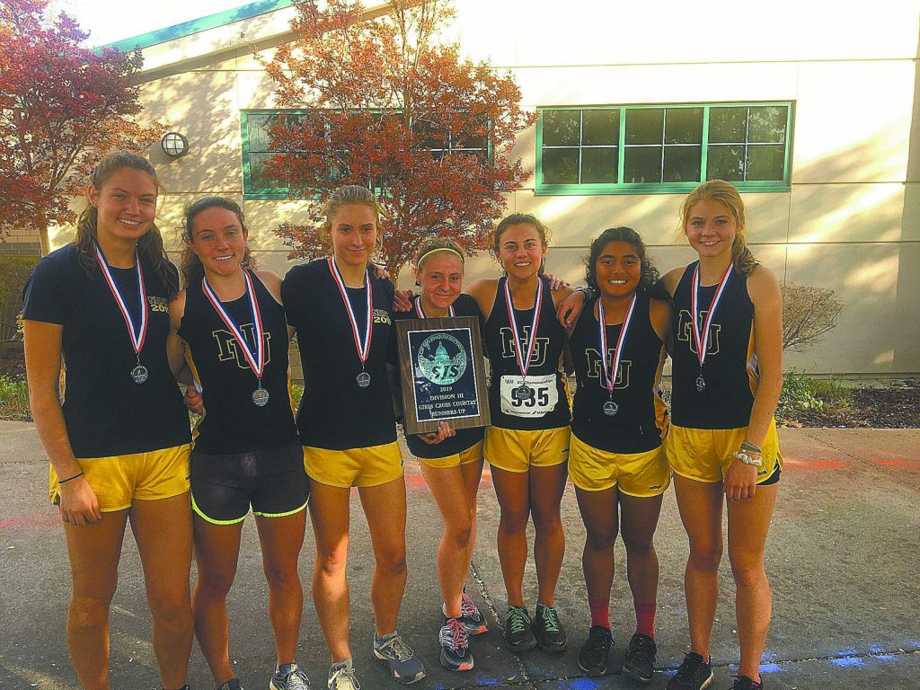 Nevada Union's girls cross country team earned a spot at the upcoming State Championships after placing second at the Sac-Joaquin Section D3 Championships on Saturday.