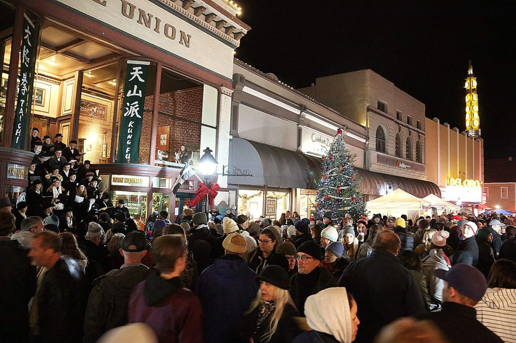 Cornish Christmas Grass Valley 2020 Ringing in the season: Cornish Christmas kicks off holiday
