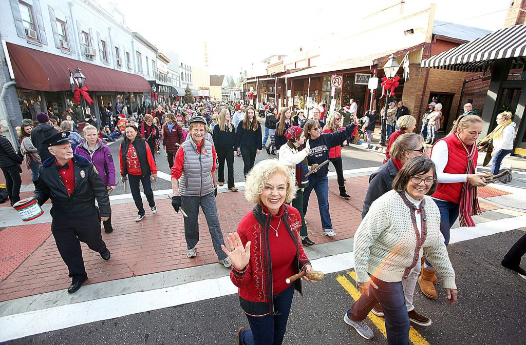 The Ladies Relief Society of Grass Valley keeps their 136 year old tradition of Donation Day alive with their annual parade through downtown Grass Valley.