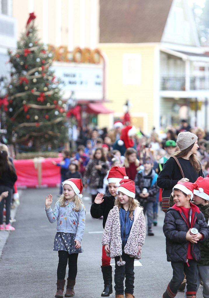 Thousands of local schoolchildren took part in the 136th annual Donation Day parade through downtown Grass Valley Friday morning. The event, hosted by the Ladies Relief Society of Grass Valley, is the longest running event in the state of California.